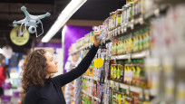 Supermarkt-Drohne ©barcoo