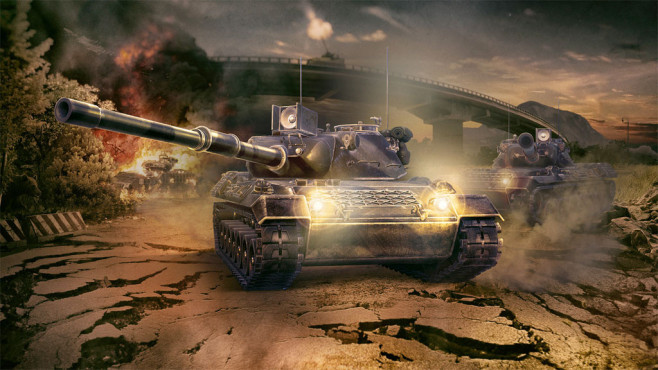 Armored Warfare: Aktion © my.com