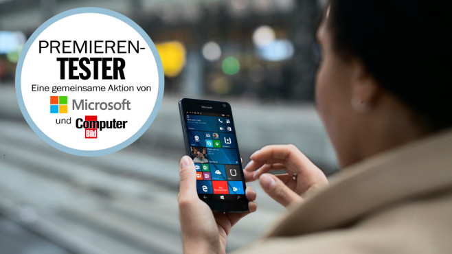 Lumia 650 Premierentest ©Microsoft, COMPUTER BILD
