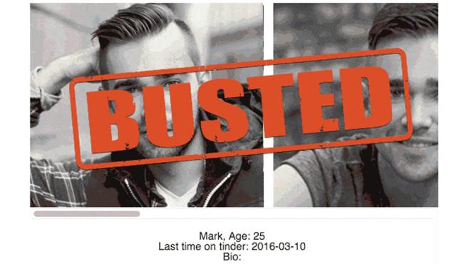 Tinder: Spionieren mit Swipe Buster ©Screenshot: https://www.swipebuster.com/
