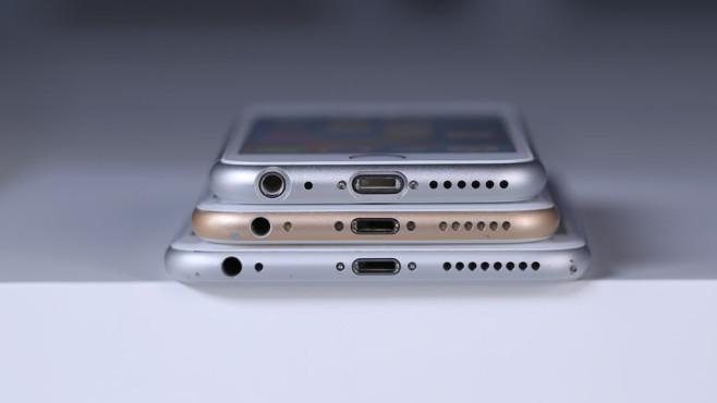 iPhone 6 SE Vergleich ©COMPUTER BILD