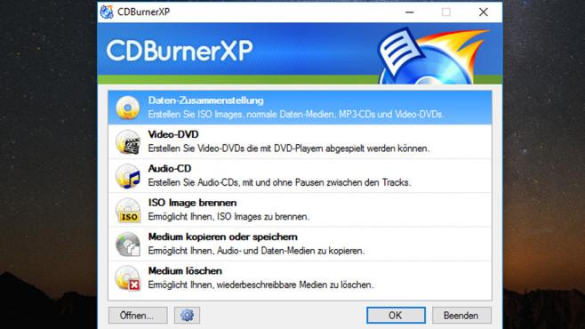 CDBurnerXP: Daten manipulationssicher aufbewahren ©COMPUTER BILD