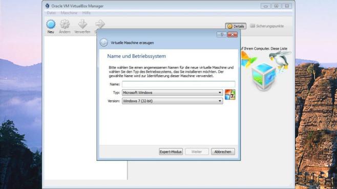 VirtualBox: Betriebssystem im Betriebssystem nutzen ©COMPUTER BILD