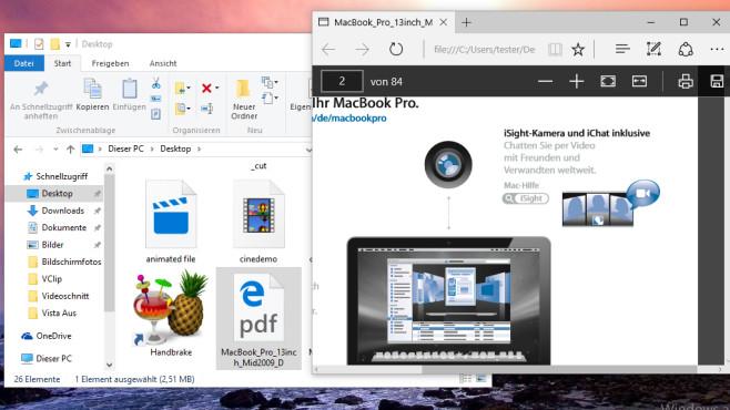 PDFs mit Bordmitteln erstellen und erzeugen ©COMPUTER BILD