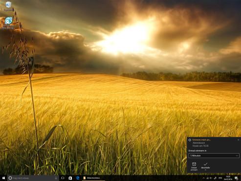 Cortana auf dem Sperrbildschirm ©COMPUTER BILD