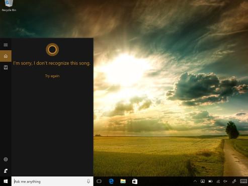Cortana erkennt Musik ©COMPUTER BILD