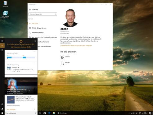 Cortana ohne Microsoft-Konto ©COMPUTER BILD