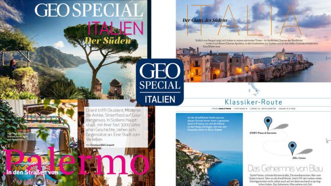 GEO Special Italien – der Süden ©GEO, Gruner + Jahr GmbH & Co KG