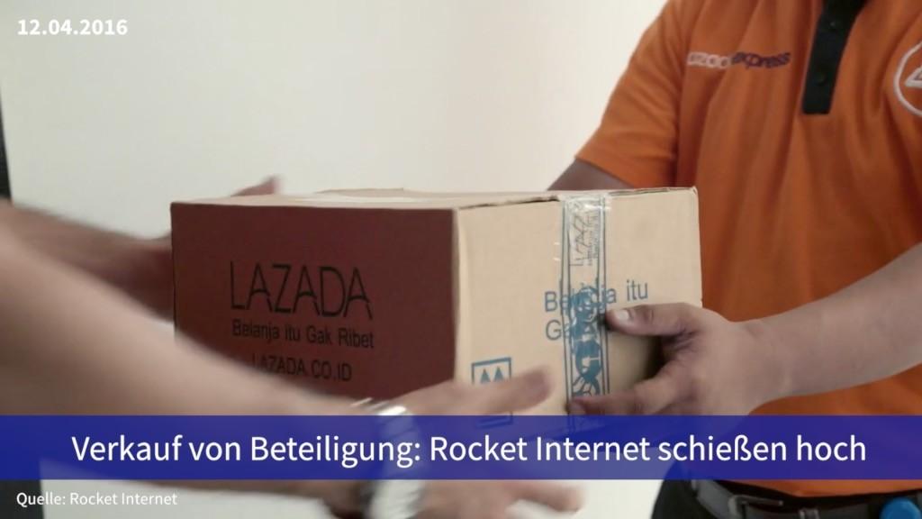 Aktie im fokus verkauf von lazada stärkt rocket internet