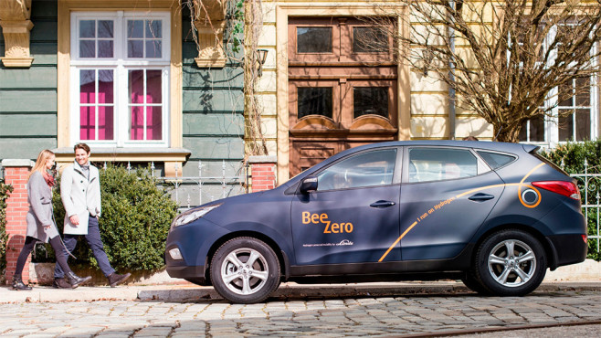 BeeZero Hyundai ix35 Fuel Cell © Linde Group