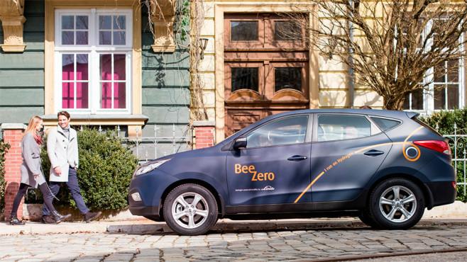 BeeZero Hyundai ix35 Fuel Cell ©Linde Group