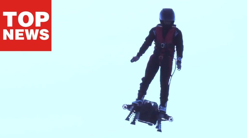 Zapata Flyboard Air: Fliegen wie der Green Goblin aus