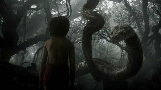 Kaa und Mogli aus The Jungle Book © Disney
