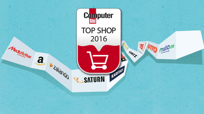 Top Shops 2016 © COMPUTER BILD