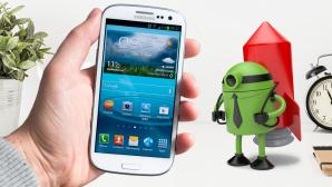 Android beschleunigen ©�istock.com/mikkelwilliam , AKS - Fotolia.com, Photographee.eu - Fotolia.com