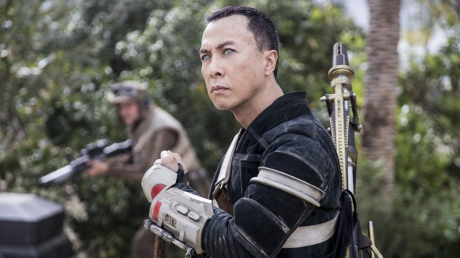 Donnie Yen im Kampf © Disney