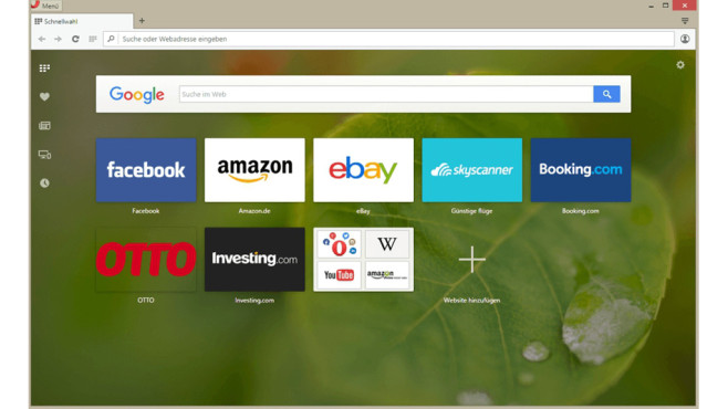 Opera-Browser erhält VPN-Funktion © Screenshot: http://www.opera.com/de