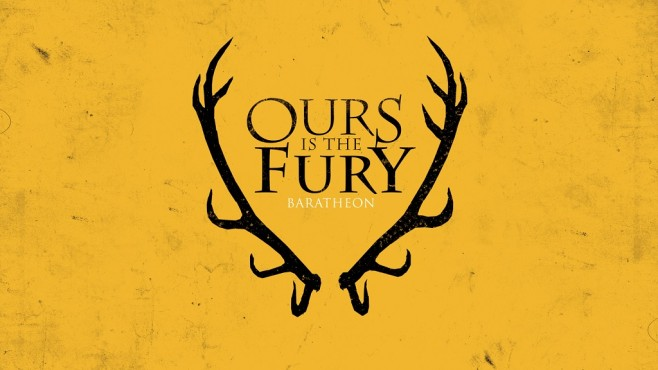 Game of Thrones Wappen Baratheon © HBO