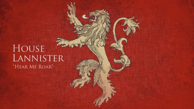 Game of Thrones Wappen Lannister © HBO