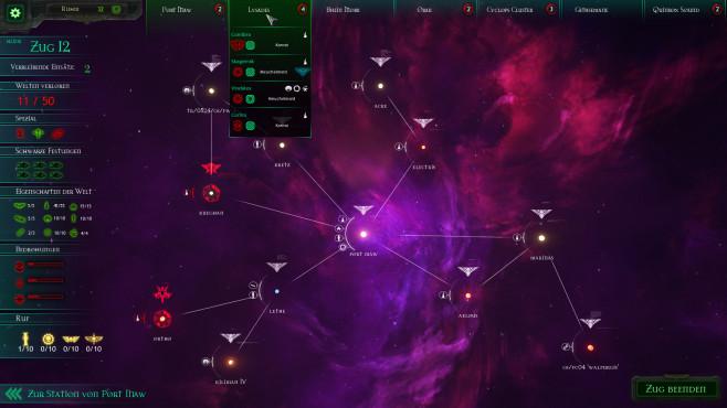 Battlefleet Gothic – Armada: Sternenkarte ©Focus Home Interactive