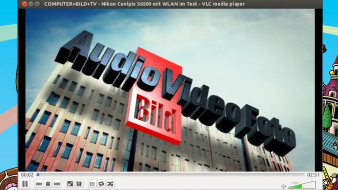 Platz 7: VLC Media Player ©COMPUTER BILD