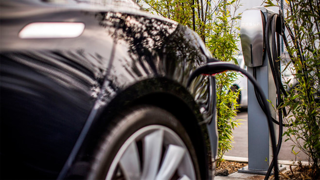 Tesla Destination Charging ©Tesla Motors