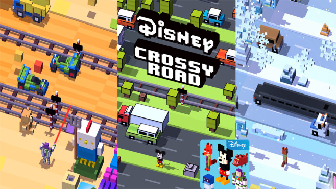 Disney Crossy Road © Disney