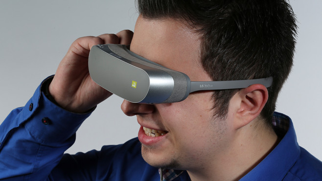 LG 360 VR im Praxis-Test: VR-Brille mit Schmerz-Garantie XXX ©COMPUTER BILD, LG