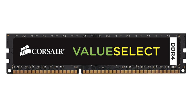 Corsair Value Select 4GB DDR4-2400 CL16 (CMV4GX4M1A2400C16) © Corsair