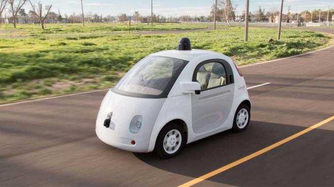 Google Car ©Google