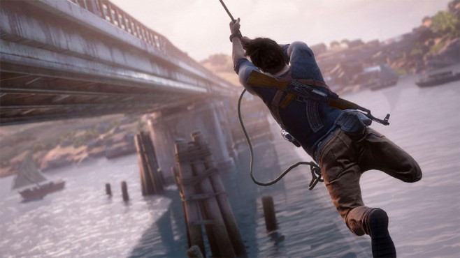 Uncharted 4: Day-One-Patch © Sony