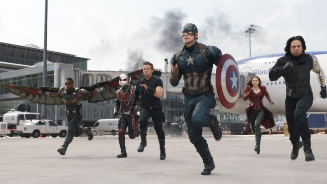 Das Team um Captain America © Disney