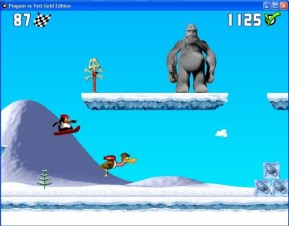 Pinguin versus Yeti – Gold Edition