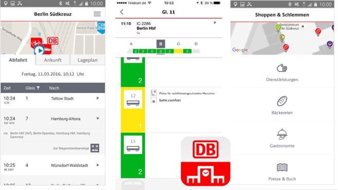DB Bahnhof live ©Deutsche Bahn