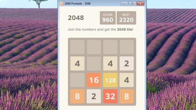 2048 Portable: Gehirnjogging mit Zahlen ©COMPUTER BILD