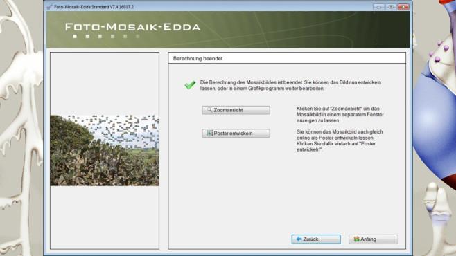Foto-Mosaik-Edda: Kreative Bildkompositionen zusammenstellen ©COMPUTER BILD