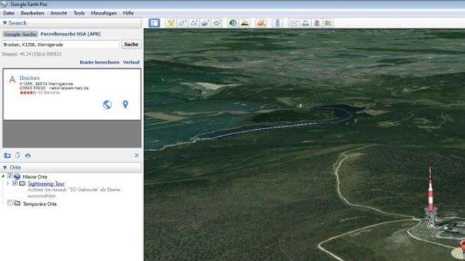 Google Earth Pro – Kostenlose Vollversion: Vom nächsten Urlaub träumen ©COMPUTER BILD