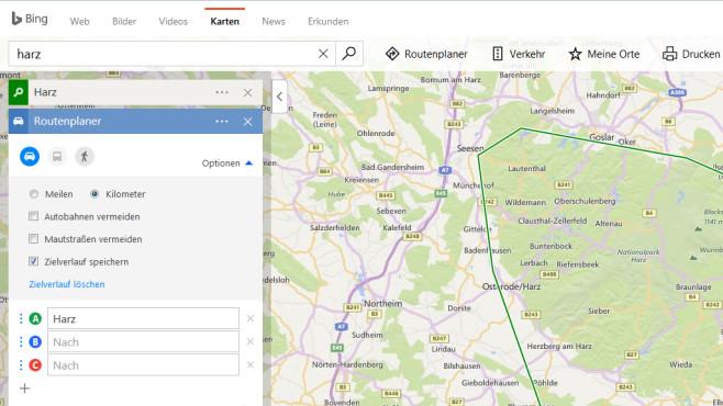Google Maps und Bing Karten: Ausflug sorgfältig planen ©COMPUTER BILD
