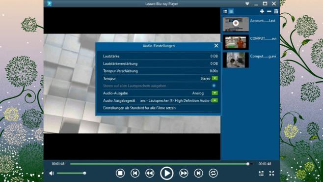 Leawo Blu-ray Player: Gekaufte Blu-rays ansehen ©COMPUTER BILD