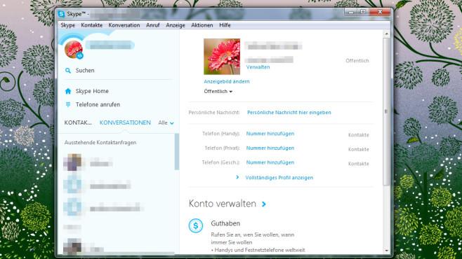 Skype: Vielfältig den Kontakt suchen ©COMPUTER BILD