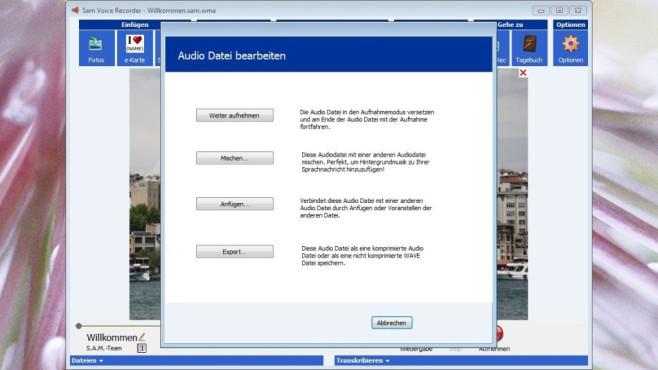 Speak-A-Message: Sprachnachrichten aufnehmen ©COMPUTER BILD