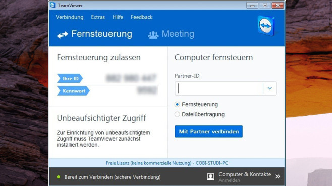 TeamViewer: Kniffelige Software-Probleme beseitigen ©COMPUTER BILD