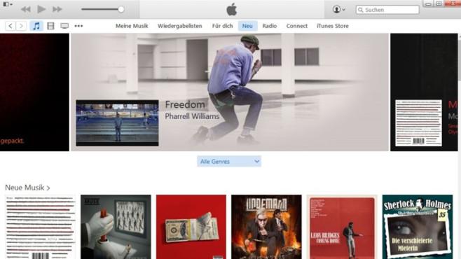 iTunes: Musik, Apps oder Filme kaufen ©COMPUTER BILD
