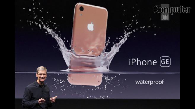 iPhone 7 GE: Wasserdicht! © COMPUTER BILD