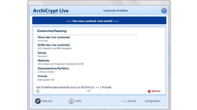 Platz 38: ArchiCrypt Live (neu) ©COMPUTER BILD
