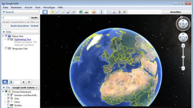 Platz 45: Google Earth (neu) ©COMPUTER BILD