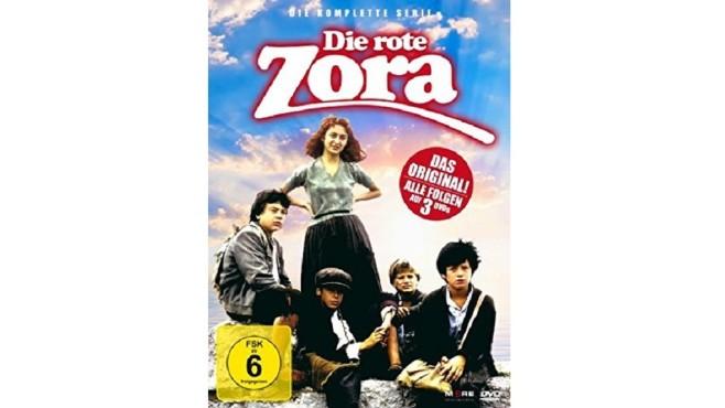 Cover der DVD Die rote Zora - Die komplette Serie ©Amazon