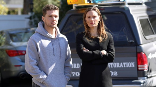Ben (Ryan Phillippe) und Ehefrau Christy (KaDee Strickland) © VOX/ABC Studios