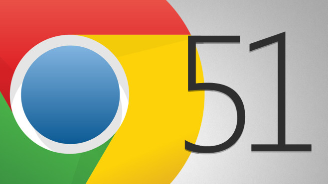 Google Chrome 51 © Google