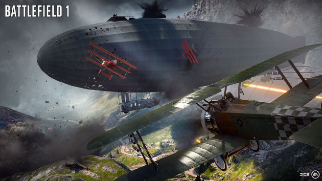 Battlefield 1: Zeppelin © EA Games